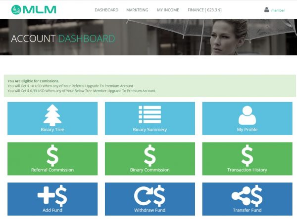 mlm-member-dashboard